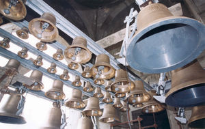 The bells of St Sava's.